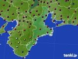 2015年06月10日の三重県のアメダス(日照時間)