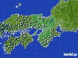 2015年06月11日の近畿地方のアメダス(降水量)