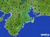 2015年06月13日の三重県のアメダス(日照時間)