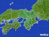 2015年06月14日の近畿地方のアメダス(降水量)