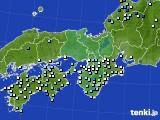 2015年06月16日の近畿地方のアメダス(降水量)