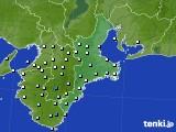 2015年06月16日の三重県のアメダス(降水量)
