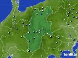 長野県のアメダス実況(降水量)(2015年06月17日)
