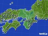 2015年06月18日の近畿地方のアメダス(降水量)