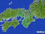 2015年06月19日の近畿地方のアメダス(降水量)