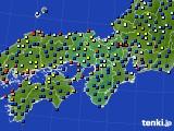 近畿地方のアメダス実況(日照時間)(2015年06月20日)