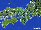 2015年06月26日の近畿地方のアメダス(降水量)
