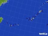 2015年06月26日の沖縄地方のアメダス(風向・風速)