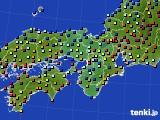 近畿地方のアメダス実況(日照時間)(2015年06月28日)