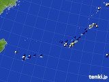 2015年06月28日の沖縄地方のアメダス(風向・風速)