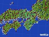 2015年06月29日の近畿地方のアメダス(日照時間)
