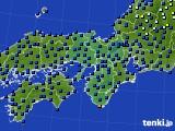 2015年06月30日の近畿地方のアメダス(日照時間)