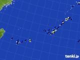 2015年06月30日の沖縄地方のアメダス(風向・風速)