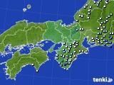 2015年07月01日の近畿地方のアメダス(降水量)