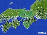 2015年07月04日の近畿地方のアメダス(降水量)