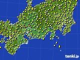 2015年07月05日の東海地方のアメダス(気温)