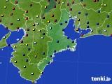 2015年07月10日の三重県のアメダス(日照時間)