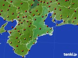 2015年07月12日の三重県のアメダス(気温)