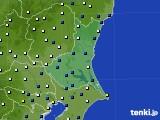 茨城県のアメダス実況(風向・風速)(2015年07月14日)
