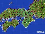 2015年07月15日の近畿地方のアメダス(日照時間)
