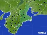 2015年07月16日の三重県のアメダス(降水量)