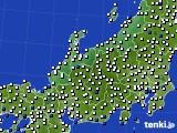 2015年07月26日の北陸地方のアメダス(風向・風速)