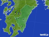 2015年07月27日の宮崎県のアメダス(降水量)