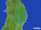 2015年07月28日の岩手県のアメダス(降水量)