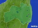 福島県のアメダス実況(降水量)(2015年07月30日)