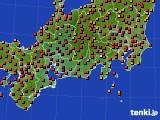 2015年07月31日の東海地方のアメダス(気温)