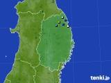 2015年08月02日の岩手県のアメダス(降水量)