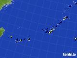 2015年08月06日の沖縄地方のアメダス(風向・風速)