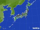 2015年08月13日のアメダス(降水量)