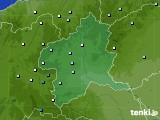 2015年08月14日の群馬県のアメダス(降水量)