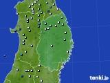 2015年08月14日の岩手県のアメダス(降水量)