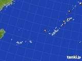 2015年08月15日の沖縄地方のアメダス(降水量)