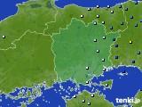2015年08月17日の岡山県のアメダス(降水量)