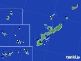 沖縄県のアメダス実況(風向・風速)(2015年08月20日)