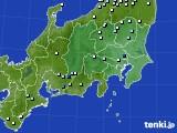 2015年08月21日の関東・甲信地方のアメダス(降水量)