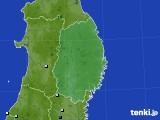 2015年08月21日の岩手県のアメダス(降水量)