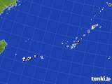 2015年08月22日の沖縄地方のアメダス(降水量)