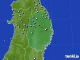 2015年08月22日の岩手県のアメダス(降水量)