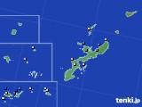 沖縄県のアメダス実況(降水量)(2015年08月23日)