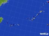 2015年08月23日の沖縄地方のアメダス(日照時間)