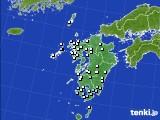 2015年08月24日の九州地方のアメダス(降水量)