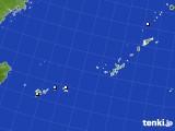 2015年08月25日の沖縄地方のアメダス(降水量)