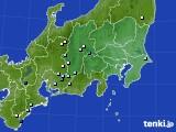 2015年08月28日の関東・甲信地方のアメダス(降水量)