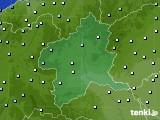 2015年08月30日の群馬県のアメダス(降水量)