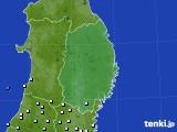 2015年08月30日の岩手県のアメダス(降水量)