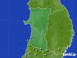 2015年08月30日の秋田県のアメダス(降水量)